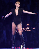 Free Shipping Ladygaga jumpsuit female singer clothes costumes ds costume