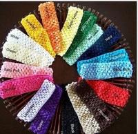 Eco-friendly 7 needle 4cm wire fashion popular child headband /baby hair bands many color 100pcs/lot headwear free shipping
