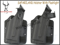 SAFARILAND Holster With Flashlight[Deluxe version] BD2284 for glock free shipping