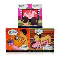 Anti premature ejaculation of condoms lasting large particles romantic condom thread condom adult sex products 3pcs*3=9pcs/lots