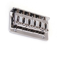 Chrome 72.8MM FIXED HardTail ELECTRIC GUITAR BRIDGE TAILPIECE