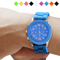 Free Shipping Hot Sale Fashion Wristwatches Ladies Brand Silicone Jelly Watch 8 Colors Quartz For Women Men YNHM332