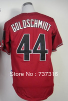 Hot Promotion!Cheap,#44 Paul Goldschmidt,Red Men's Baseball Jerseys Sale Stitched baseball best - Free Shipping,Can mix order