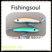 Wooden fishing lures, WDL037-16, 16cm, 70g, fishing baits