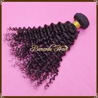 Pervian Virgin Hair No Shedding No Tangle Deep Waves Afro Kinky Curly 4Bundles Lot Mix Length 8 To 30 Inch  5A