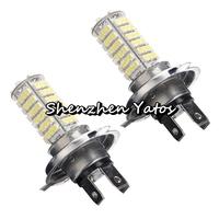 20pcs H4 3528 102SMD LED Fog Headlight Lamp Bulb 12V