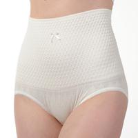 High waist abdomen thin waist drawing panties panty beauty care 100% cotton triangle panties mommas plus size panties