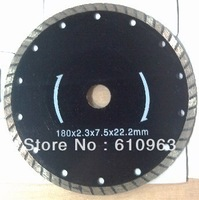 180mm Turbo dry Cutting blades for granite,marble