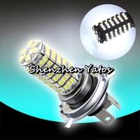 20pcs Car H4 120 LED 3528 SMD Xenon White Fog Headlight Bulb Lamp 12V