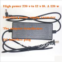 High power & Turn 220 v 12 v 10 a 120w & Transformer DC switching power supply converter & Adapter interface plug