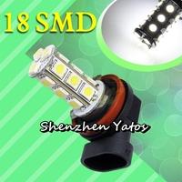20pcs H8 H11 18 SMD 5050 LED SMD Fog Lights DRL Driving Lamp 12V