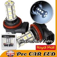 10pcs H11 18SMD 5050 LED Headlight Bulb Fog Light