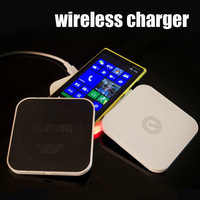 Ultra-thin QI Wireless Charger Transmitter Pad For Samsung/ Iphone /Lumia920/928 /Nexus4/5 /HTC 8X(US) Charger Station