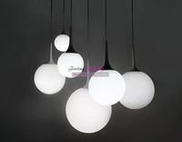 25CM Free Shipping Modern Simple Style Italy Castore Beaver White Glass Pendant Lamp 1 light