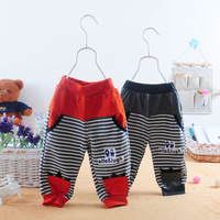 Children's clothing autumn male child 2013 child pants female child legging baby trousers
