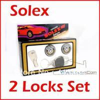 Solex 2 Door Lock Cylinder Round Key Free Shipping!!! Excellent Quality!!! One Year Warranty!!!