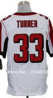 Wholesale Jerseys-American Football Jersey-Men's Cheap Michael Turner 33 Elite Jerseys