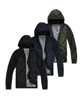 Free shipping P l d coat jacket memory wire breathable waterproof with a hood jacket outerwear raincoat