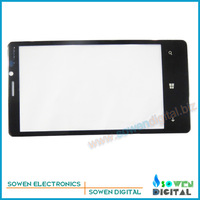 Outer LCD Screen Lens Top Glass for Nokia Lumia 920,Black,Original new,Free Shipping