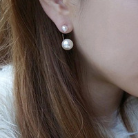 Fashion hot-selling popular korean soaps star pearl earrings song stud earring gentlewomen elegant earring