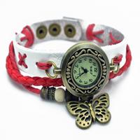 New Genuine leather /Cow Leather Wristwatches Vintage Fashion & Casualr Ladiies Watch Wristwatch Women WatchesFashion Free ship