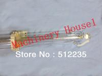 100W Co2 laser tube 1400mm with wooden case 10 months warranty laser cutting machine