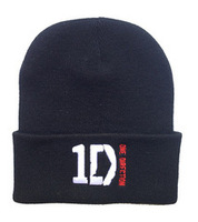 One Direction Beanies hats Hip Hop beanies for men and women casual winter knitted caps Free shipping
