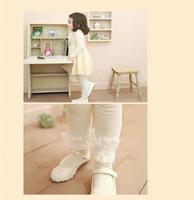 Beautiful children's clothing princess lace legging pants