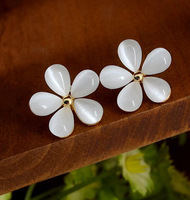Promotion Wholesale Cherry Blossom Earrings High Quality Stud Earring Fashion Jewelry Wholesale Jewelry Women's Gift YE420