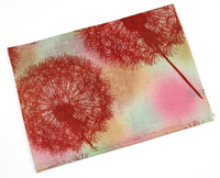 Newest ! Pure Wool scarf Dandelion printing wool cape women's scarf fashion Pashmina scarf shawl 185x65cm  WJ1030
