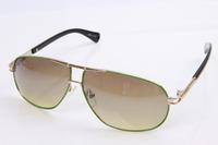 High quality luxury brand sunglasses women men sunglasses brand designer 2013 gold reflective stylish mens glass  347-5