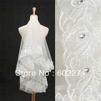 Rhinestone bride formal accessories bridal veil wedding accessories