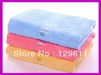 free shipping 100% cotton bath towel absorbent plus size bath towel 70 140 gift bath towel toalha novelty households