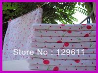 free shipping cherry design Baby bath towel newborn square-fashion thickening bath towel 100% cotton kids party favors