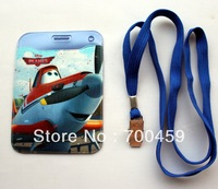 New Free shipping  12pcs Cartoon Planes Card sets name badge Business Card Holder