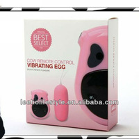 100pcs/lot Wireless remote control Waterproof cow Vibrating egg vibrator