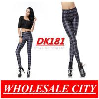 WHOLESALE Fashion Women Leggings PERIODIC TABLE BLACK Printed Leggings Super Elastic Casual Black Milk Leggings Dk181