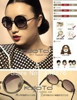 Fashion Vintage Round Sunglasses Designer Sunglasses Women,Excellent Quality Prince's Mirror Dark Glass Free Shipping