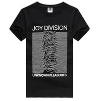 Joy Division Unknown Pleasures Cover Men's Punk Short Sleeve T-Shirt diy shirts custom shirts