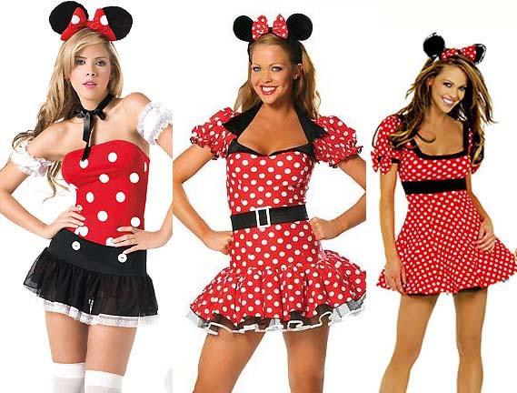 Disfraces para mujeres de Minnie - Imagui