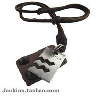 For nec  klace aquarius fashion pendant aquarius lovers constellation necklace