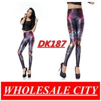 Autumn Women Leggings Heavenly Creatures Print Leggings Black Milk Galaxy Leggings For women Wholesale DK187