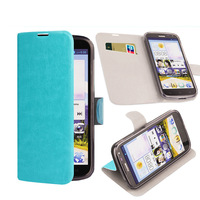 FOR HUAWI C8815/G60 CASE  LEATHER CASE Cover with steel plate PROTECT CASE MOBILE PHONE CASE FREE SHIPPING