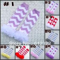 freeshipping 1pc baby leg warmer,Baby Socks,knee protection,cotton leg warmer,Christmas baby ruffle leg warmers with ruffle