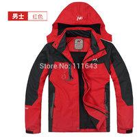 L-5XL Men's Spring Autumn climbing Jacket Windproof waterproof raincoat Camel Outdoor Sports camping Hiking jackets coat 5 Color
