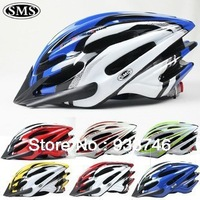Free Shipping 7Color Integration Bicycle Helmet Mountain Bike Helmet  within Skeleton/Cycling Helmet