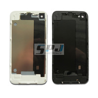 for iphone 4 back cover back housing back panel, black or white ,Free shipping,best quality.