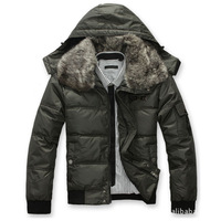 2013 the newest winter coat for men cotton thickening so fashion coat for winter down & Parkaswinter jacket men 2013