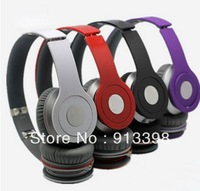2013 New Arrival Hot Foldable Wireless Bluetooth Stereo Headset Headphones Mic For iphone Samsung HTC Free shipping &wholesale