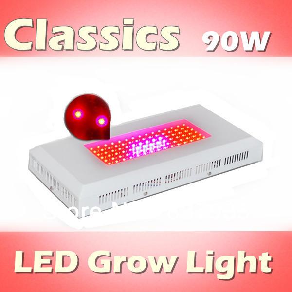Classics 90W LED grow light Red 630nm: Blue 460nm=8:1, diy led grow light panel full spectrum(China (Mainland))